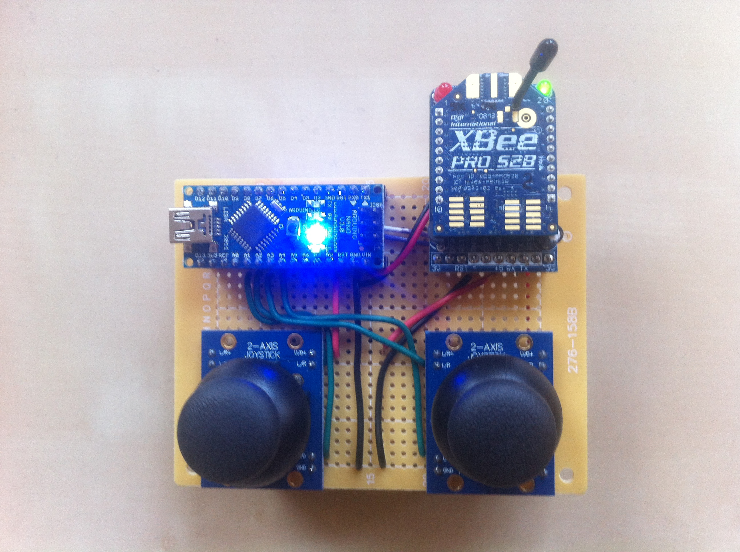 RC Car w/ Robotic Arm (custom controller using XBee) – Bob's