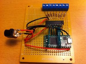 soldered final