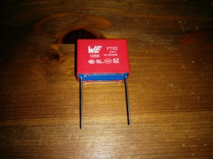 X2 Rated Capacitor