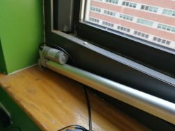 window sill mount