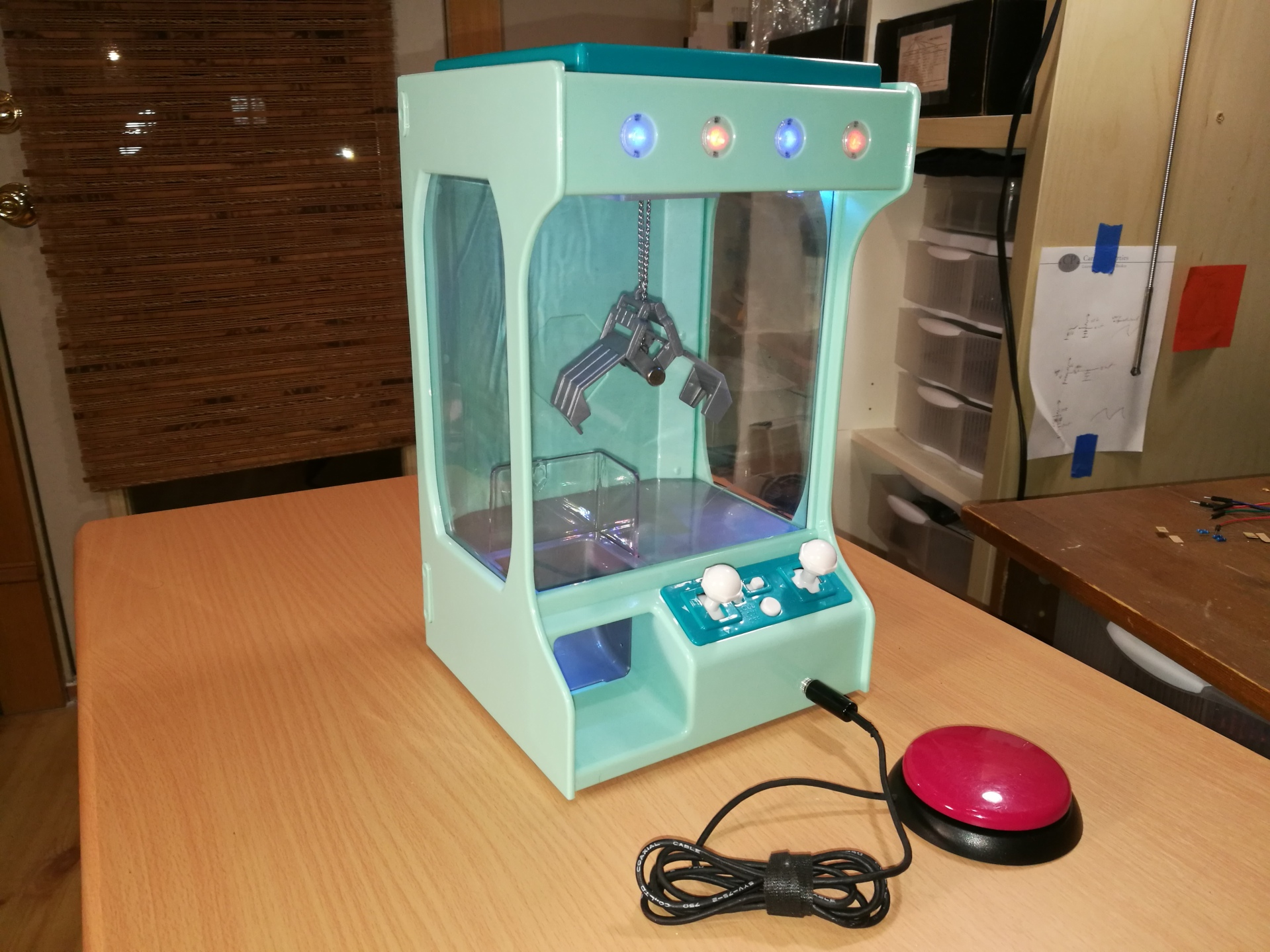switch adapted claw crane game