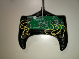 inside of switch adapted remote control