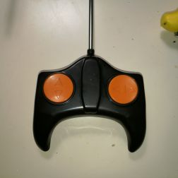 front of remote control