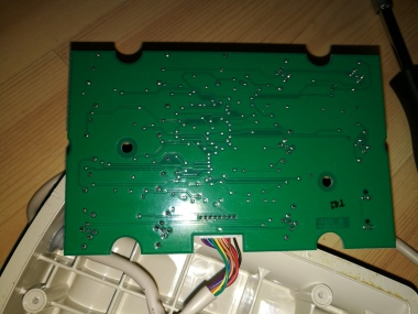 back of hospital bed pendant PCB