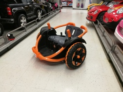 checking out the Wild Thing at a Toys R Us