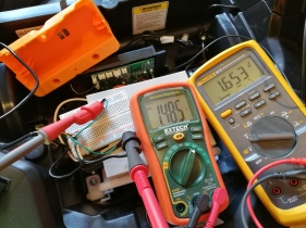 measuring voltages