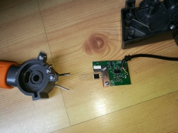 PCB for Wild Thing joystick