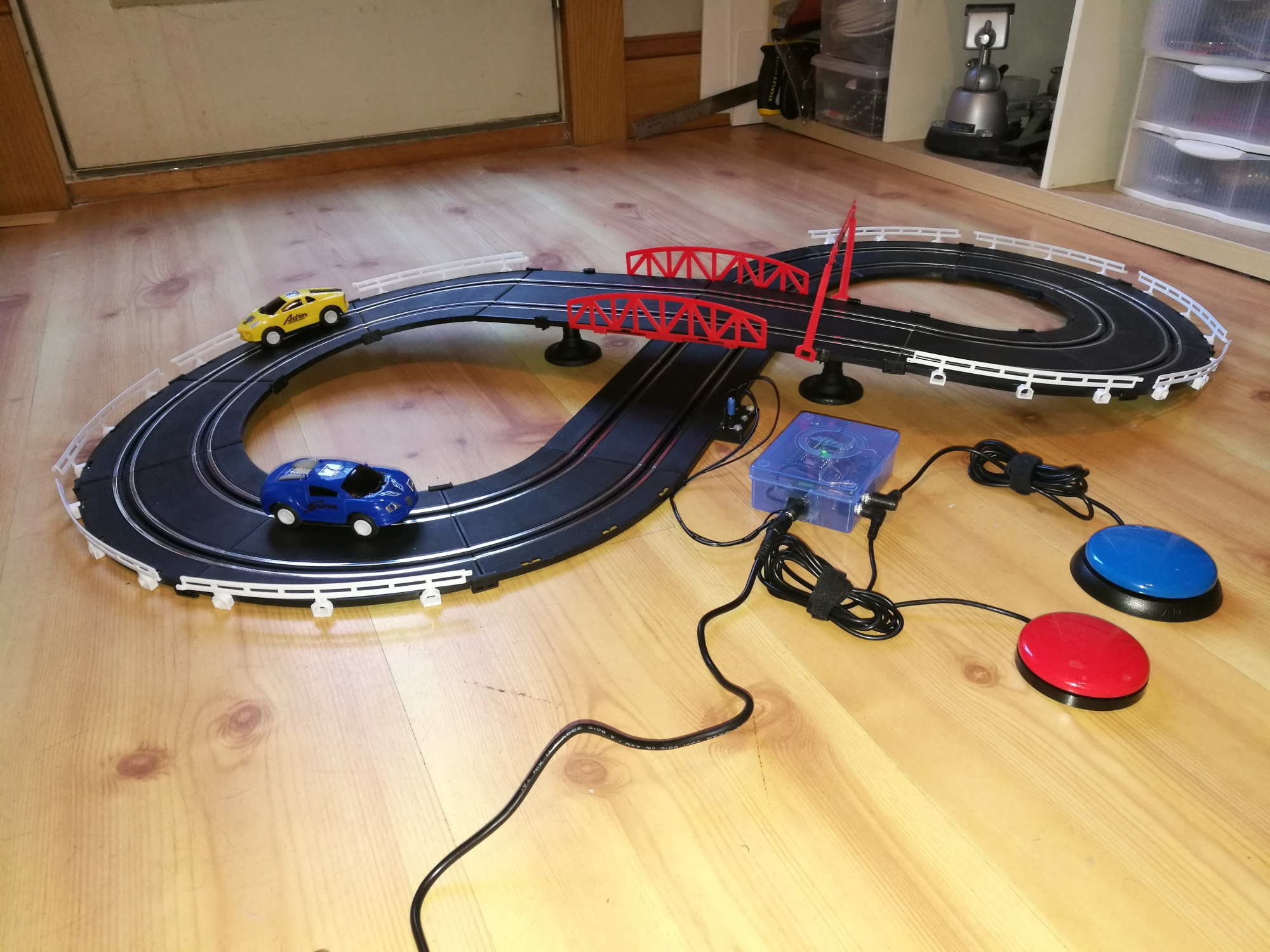 switch adapted slot cars