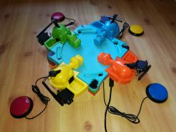 switch adapted Hungry Hippos
