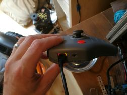LED indicators on remote control for Wild Thing