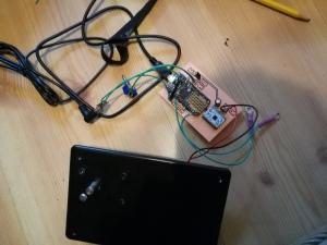 full Slam Dunk control electronics outside of housing