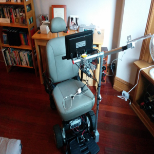 low cost eye-gaze controlled power wheelchair with robotic arm